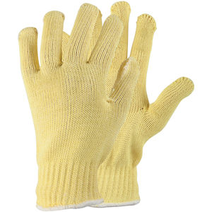 Cotton and String Knit Cut Resistant Glove