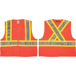 X-Back Hi-Vis Safety Vest