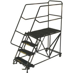 Rolling Ladder Mobile Work Platform