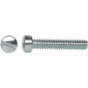 Fillister Head Stainless Steel Panel Screw 1 Length #8-32 Threads 1 Length Small Parts B001OAHP4E Pack of 10 Slotted Drive Plain Finish