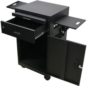 Compliance. LUXOR Multi Media Workstation W/Locking Cabinet
