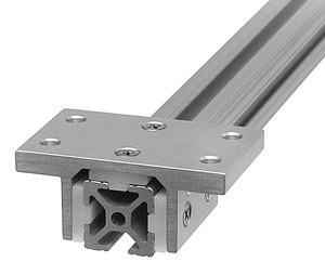 2 8 X 4 15s Aluminum Double Flange Linear Bearing Fastenal