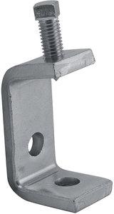 P1271s 2 3 8 Quot Electro Galvanized Zinc Steel Beam Clamp