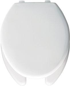 Sensational Elongated Open Front White Plastic Toilet Seat Wi Top Tite Creativecarmelina Interior Chair Design Creativecarmelinacom